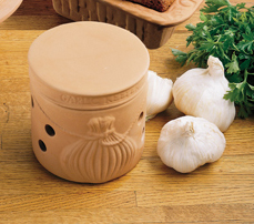 ceramic gourmet garlic keeper for storing garlic