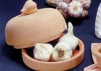 Large Gourmet Garlic Baker, roasting garlic